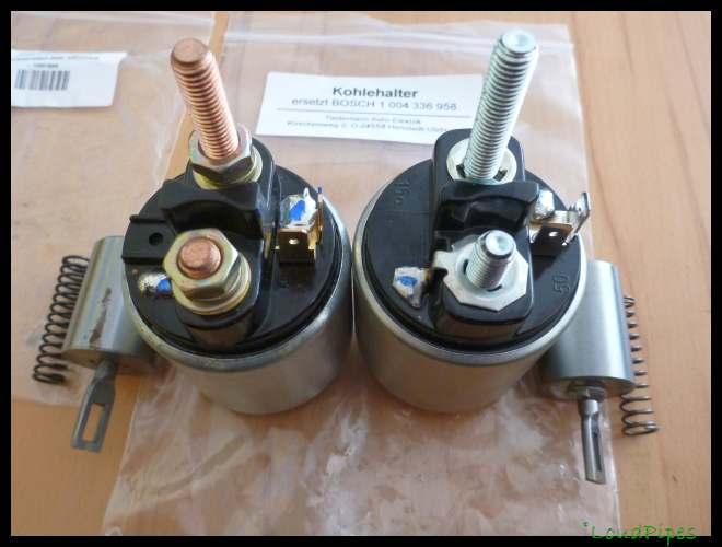 Beliebt Bevorzugt Anlasser Reparatur mit Bild - Teilenummer Bürstenhalter? - &XP_31